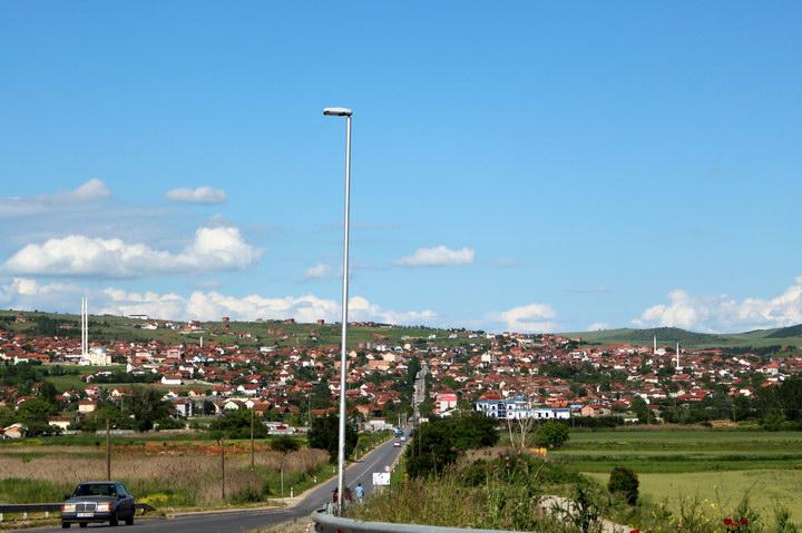 Околиці Скоп'є, столиці Македонії