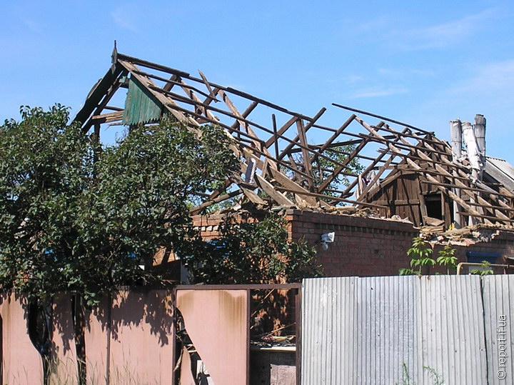 Сусіди Ірини залишилися без даху над головою
