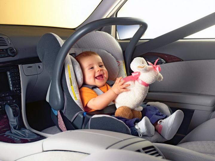 Увага! В автомобілі – діти! -