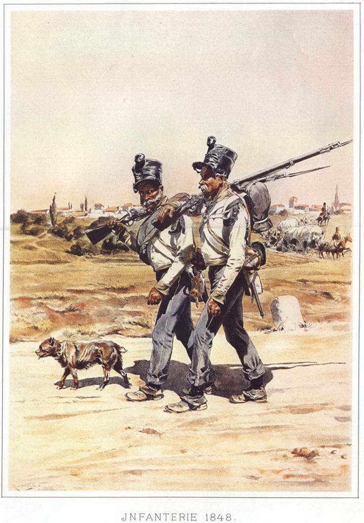 Австрійська піхота - панталони сині