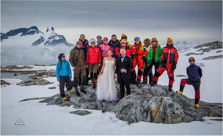 Що лиш не можна робити в Антарктиді. навіть одружуватися