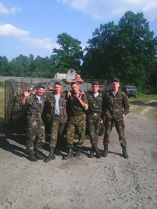 З бойовими друзями