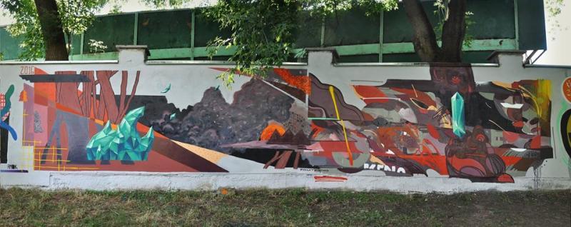 Alarm, графіті, стріт-арт
