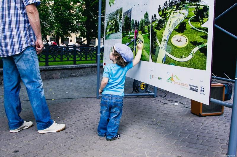 Є проекти простору для дітей, які лише чекають дозволу на втілення