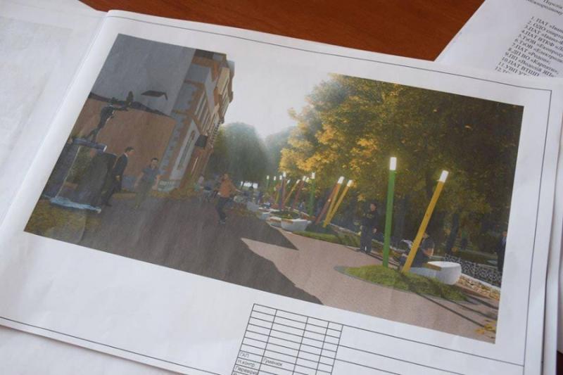 Вже цього літа на площі Міцкевича у Франківську облаштують дитячий майданчик. Проект