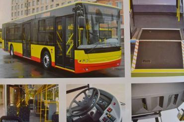 Навесні Івано-Франківськом курсуватимуть новенькі комунальні автобуси (фото)