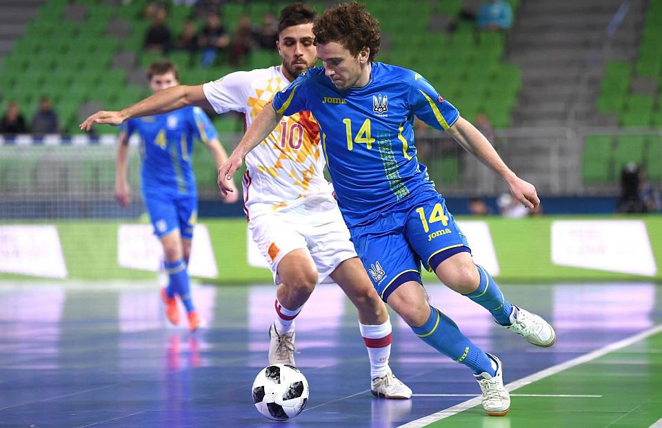 Франківець Петро Шотурма увійшов до символічної збірної футзального ЄВРО-2018