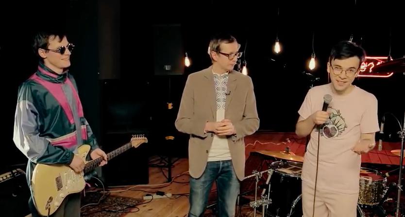 У музичному лайві Майкла Щура виступив прикарпатський гурт Зе Джозерс (відео)