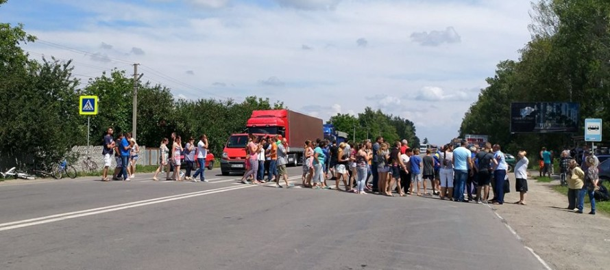 На Верховинщині люди готуються перекрити дорогу на невизначений термін