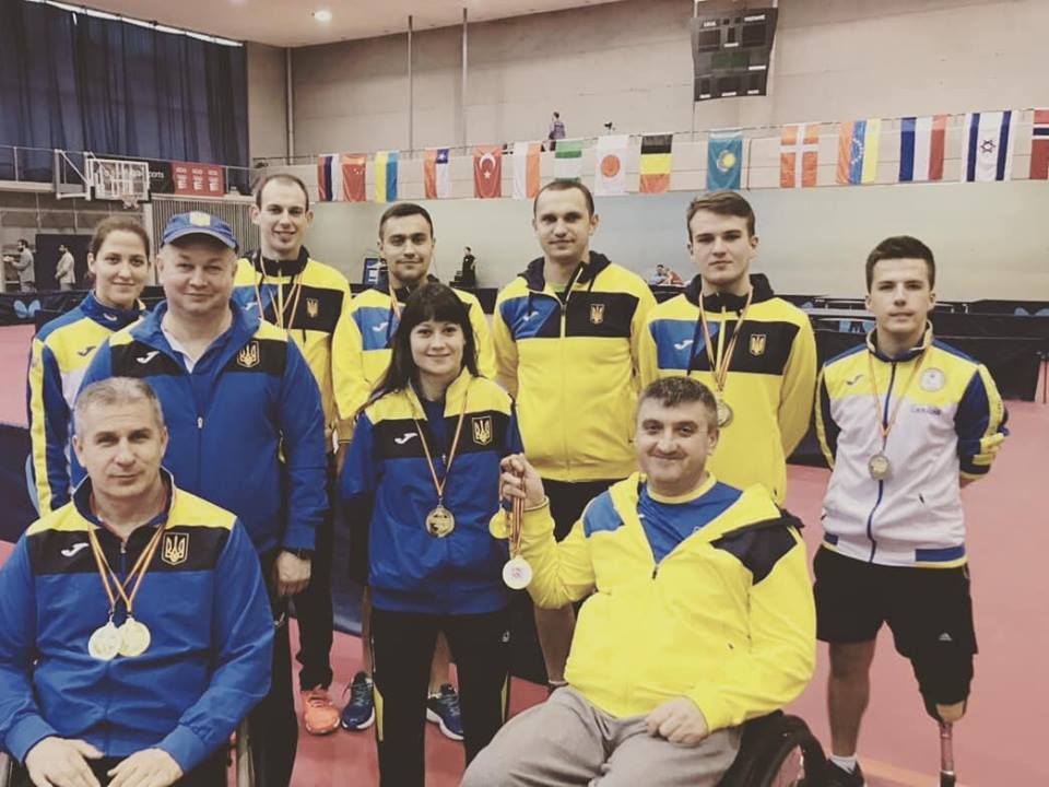 Прикарпатець Василь Петрунів виборов золото на міжнародному турнірі з настільного тенісу в Іспанії (фотофакт)