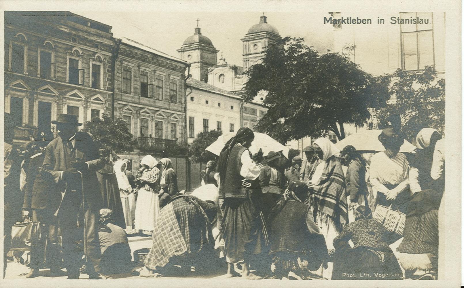 Базари старого Станиславова. Як у ХІХ столітті місто стало торговим центром
