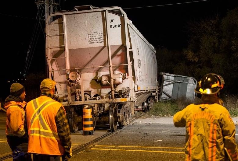 Потяг зійшов з колії у східному районі Торонто