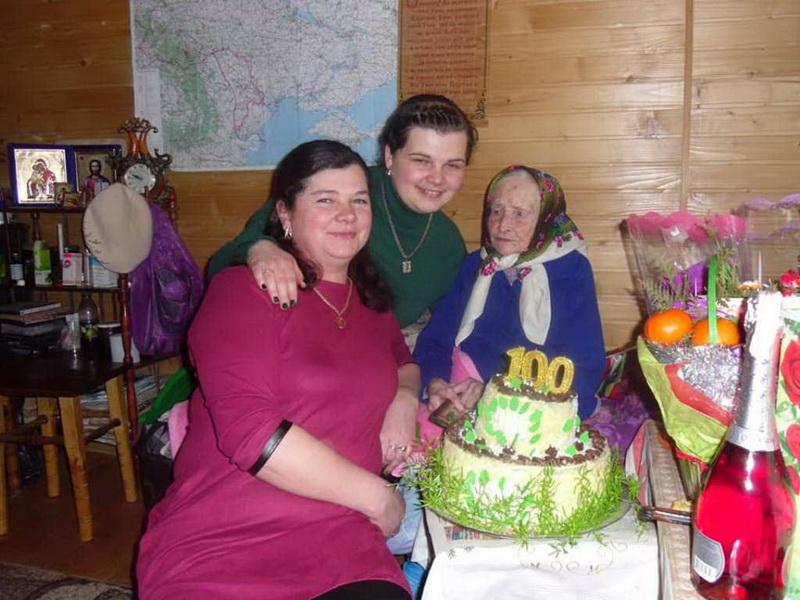 Як на Косівщині бабуся відсвяткувала 100 років (ФОТО)