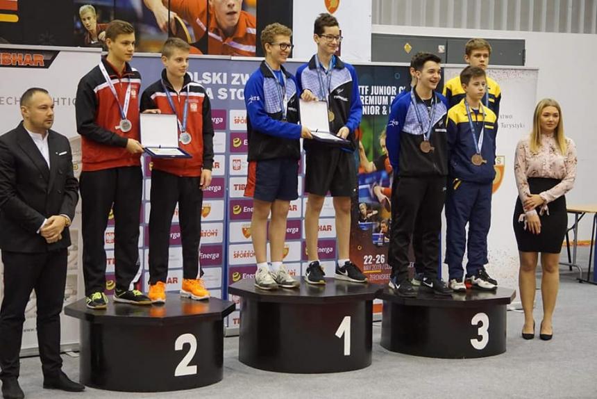 Рогатинець став призером Міжнародного турніру з настільного тенісу