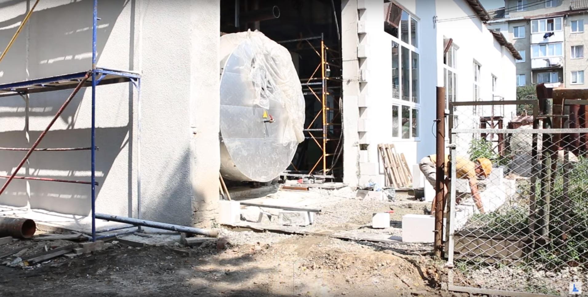 В Івано-Франківську модернізують теплову котельню (відеосюжет)