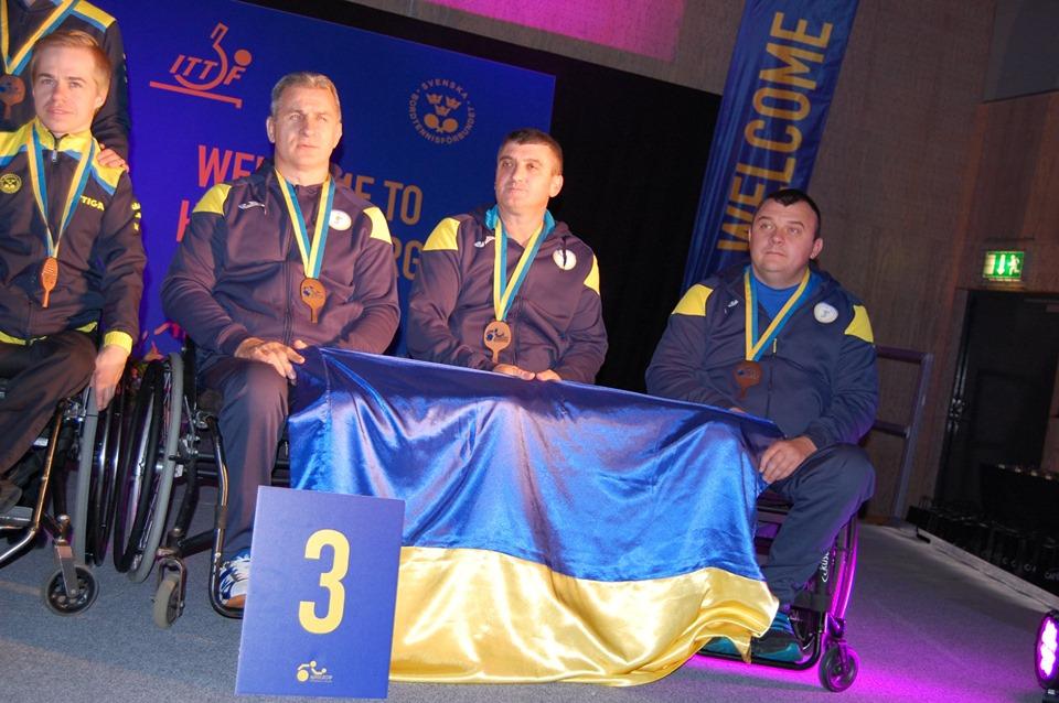 Прикарпатці вибороли бронзу на чемпіонаті Європи з настільного тенісу