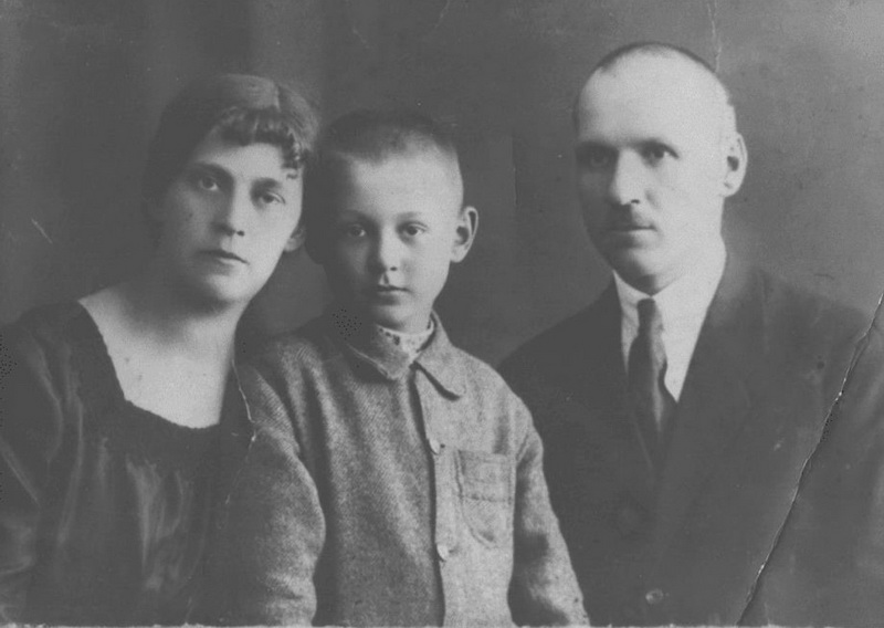 Іванна Блажкевич з чоловіком і сином Богданом
