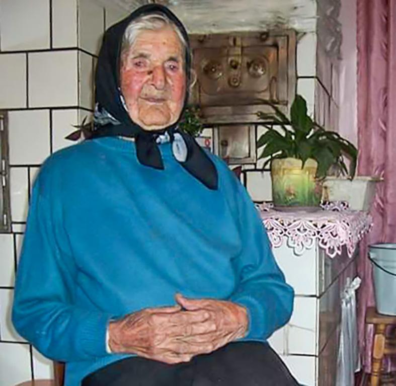 Ганна Микитин. Фото Зеновії Годованець