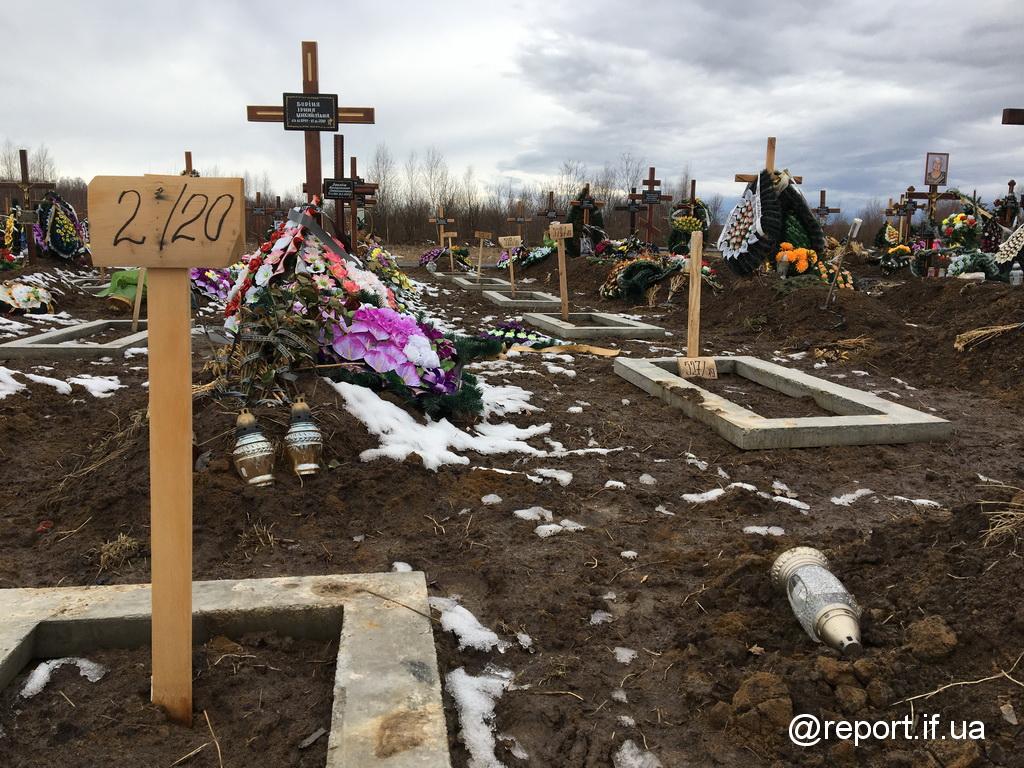 Записки з цвинтаря. Звідки земля для кладовища Франківська і що далі (ФОТО)