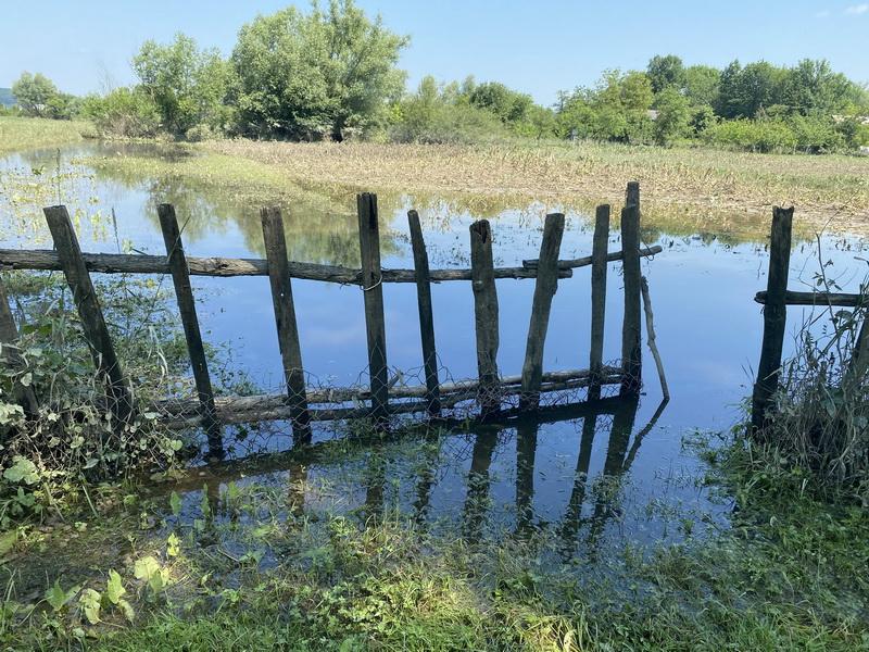 """Нижневу від Дністра нікуди. Чому люди регулярно """"плавають"""", але село не лишають (ФОТО)"""
